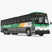 Intercity-buss MCI 102DL3 3d model
