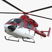 Air Ambulance Helicopter MD 902 Explorer 3d model
