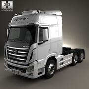 Caminhão trator Hyundai XCient P520 2013 3d model