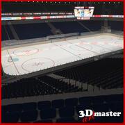 Ice Hockey Arena 2 3d model