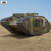 Mark V 3d model