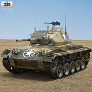 M24チャフィー 3d model