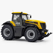 JCB Fastrac 8310 Agricultural Tractor 3d model