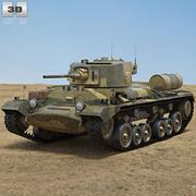 Valentine Mk III modelo 3d