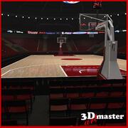 Basketball Arena 2 3d model