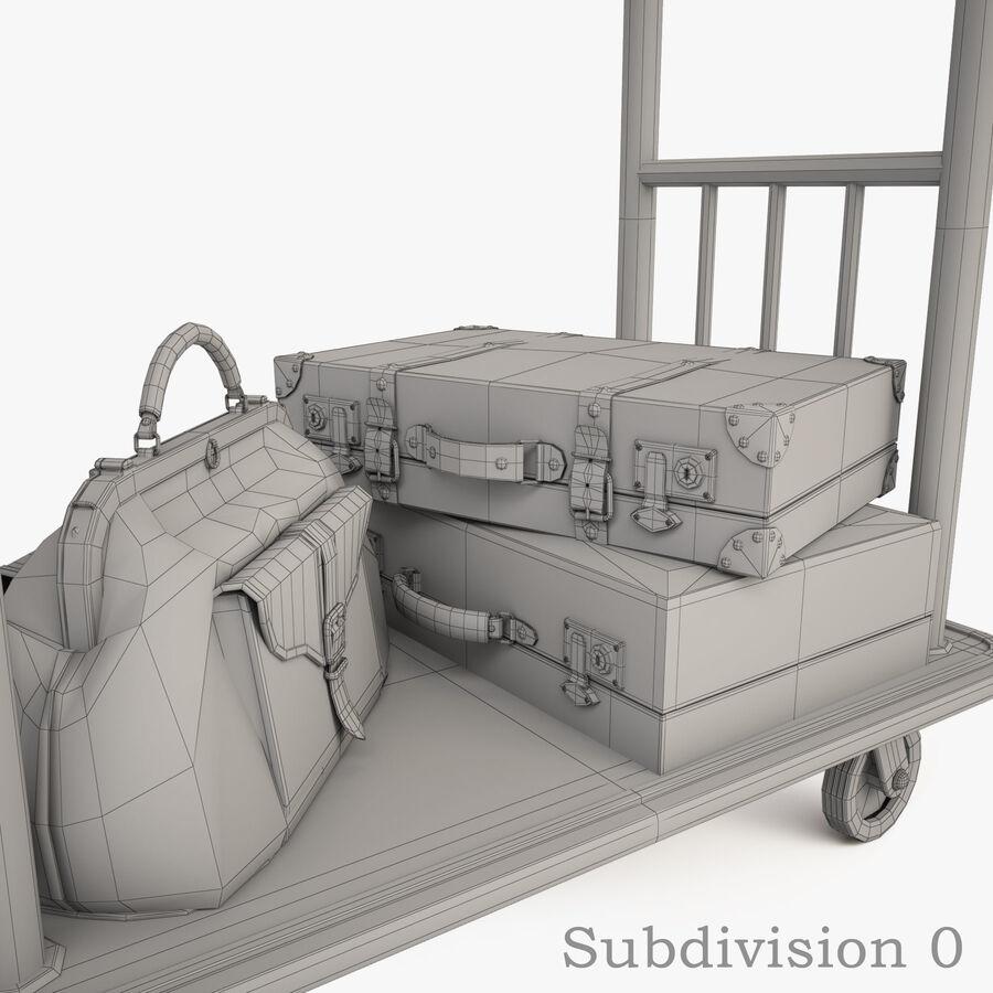 Hotel Corridor royalty-free 3d model - Preview no. 20