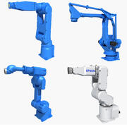 Industrial Robot collection 03 3d model