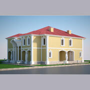 Luxury Villa 01 3d model