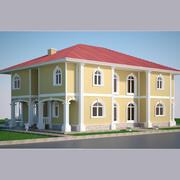 Luxury Villa 02 3d model