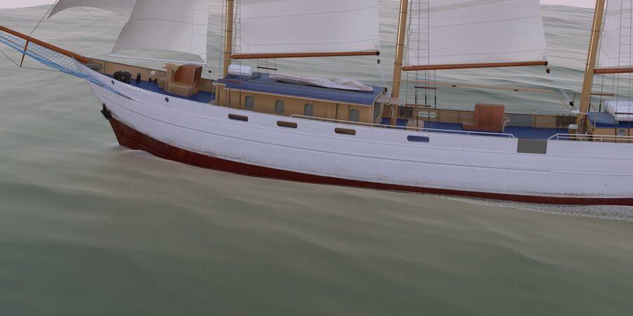 帆船 royalty-free 3d model - Preview no. 5