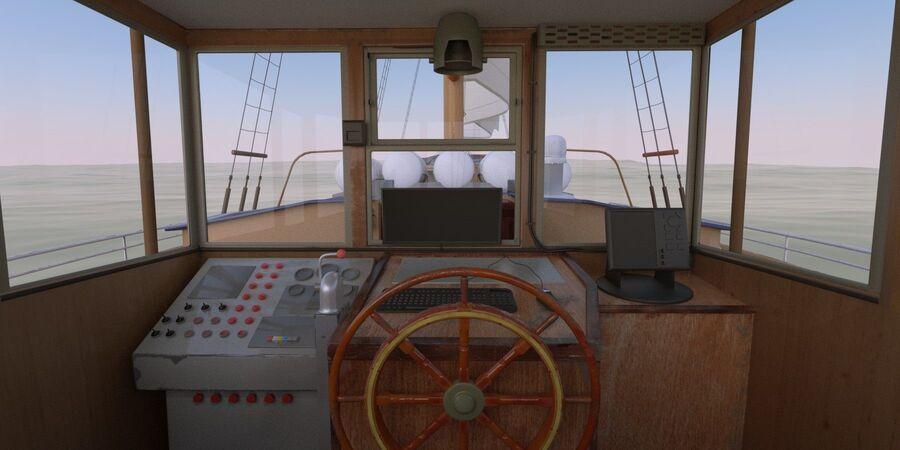 帆船 royalty-free 3d model - Preview no. 2