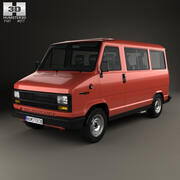 菲亚特·杜卡托(Fiat Ducato)客运货车1981 3d model