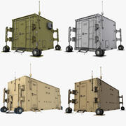 UAV Control Containers Collection 3d model