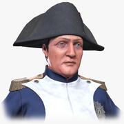 拿破仑·波拿巴一世 3d model