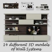 Jesse Online Wandsystem 3d model