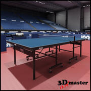Table Tennis Arena 3d model
