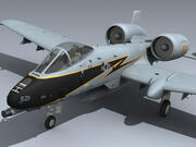 A-10 Thunderbolt II (CT ANG) 3d model