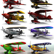 Pitts Special pack 3d model