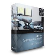 CGAxis Models Volume 75 Furniture VI 3d model