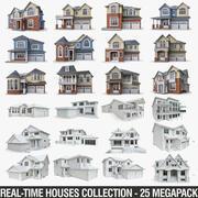 民家コレクション-25メガパック 3d model