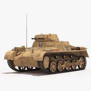 Panzerkampfwagen I Ausf。 Sf.Kfz.101 3d model
