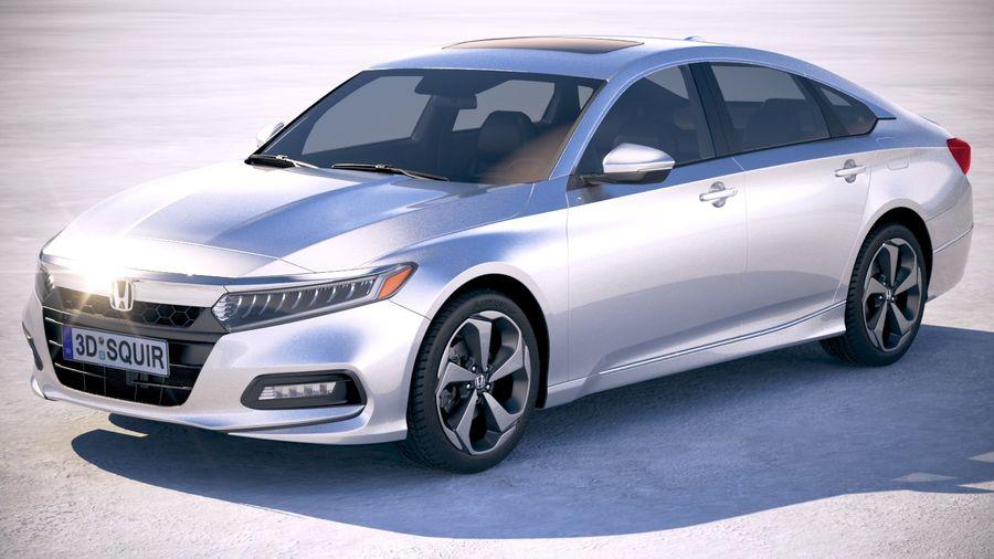 Honda Accord 2018 royalty-free 3d model - Preview no. 1