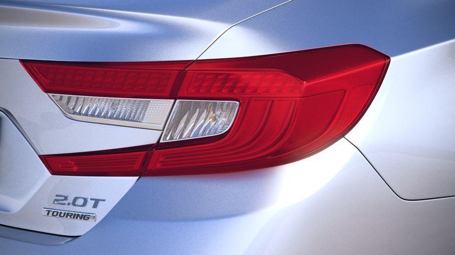Honda Accord 2018 royalty-free 3d model - Preview no. 17