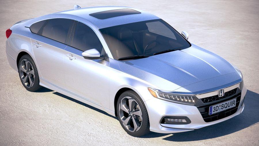 Honda Accord 2018 royalty-free 3d model - Preview no. 12