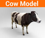 cow low poly model 3d model