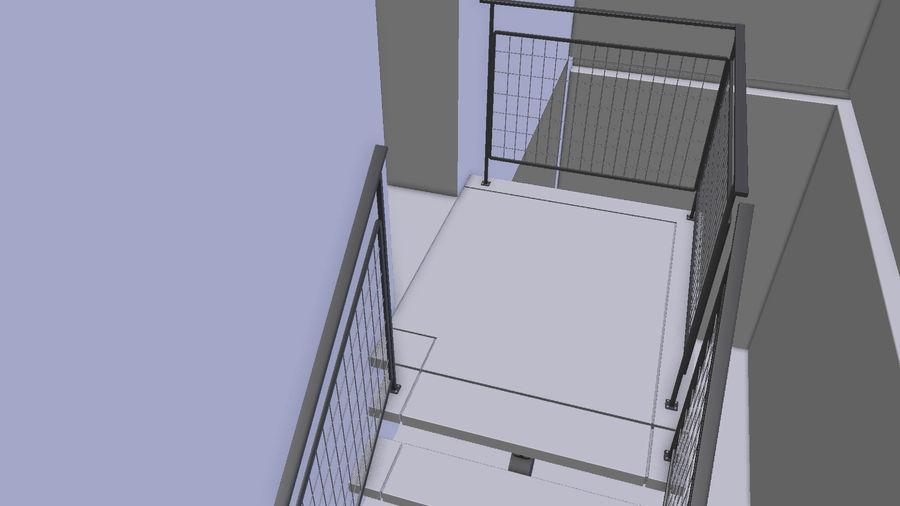 빈 룸 3D 모델 royalty-free 3d model - Preview no. 20