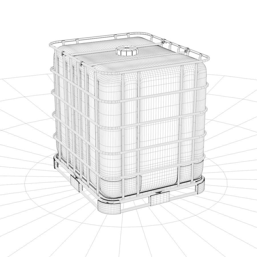 Tanque de armazenamento de água royalty-free 3d model - Preview no. 4