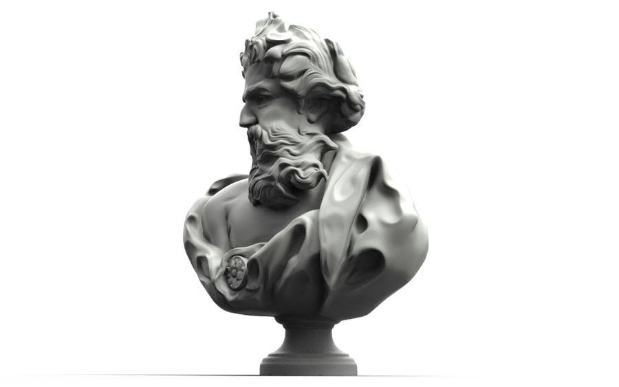 Зевс Отриколи royalty-free 3d model - Preview no. 4