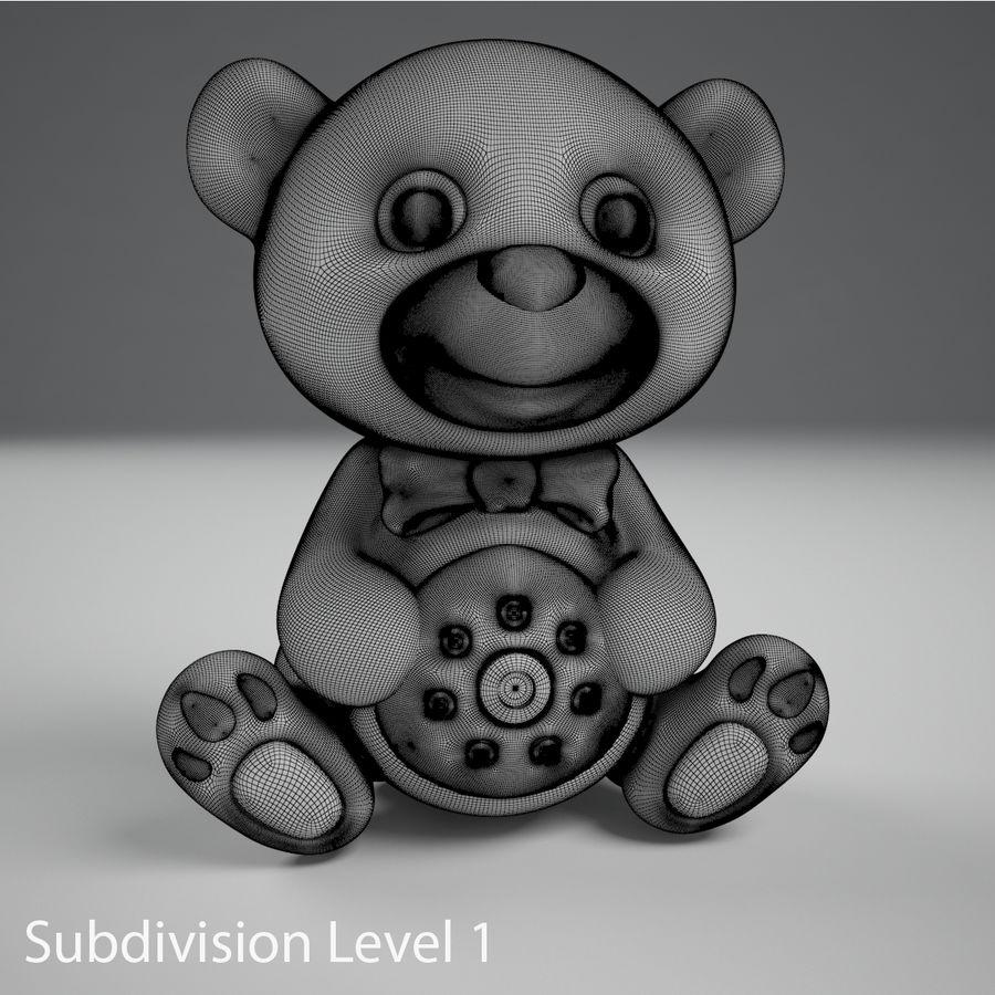 Oyuncak ayı royalty-free 3d model - Preview no. 11