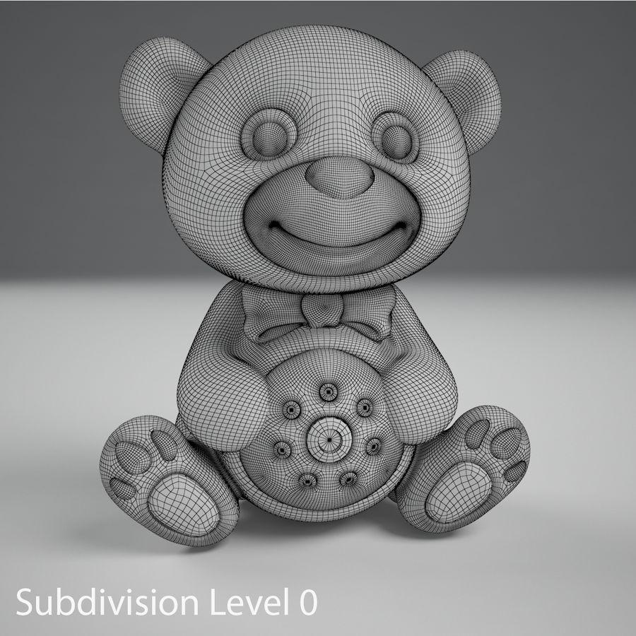 Oyuncak ayı royalty-free 3d model - Preview no. 10