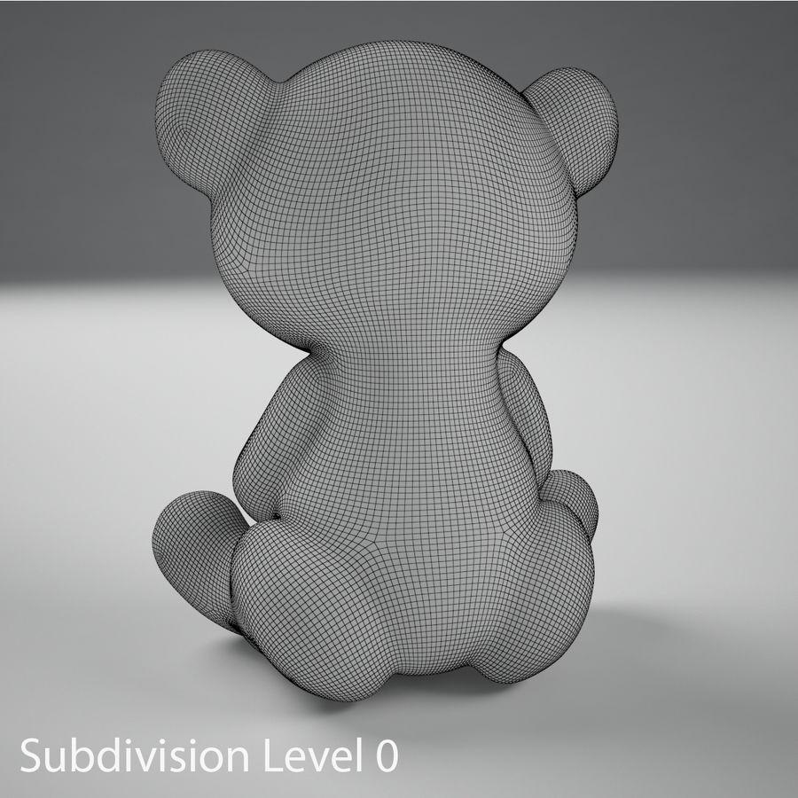 Oyuncak ayı royalty-free 3d model - Preview no. 12
