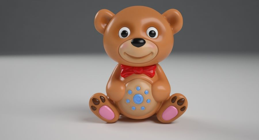 Teddy Bear royalty-free 3d model - Preview no. 4