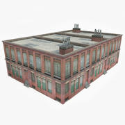 Budynek fabryczny VI 3d model