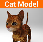 modèle de chat mignon 3d model