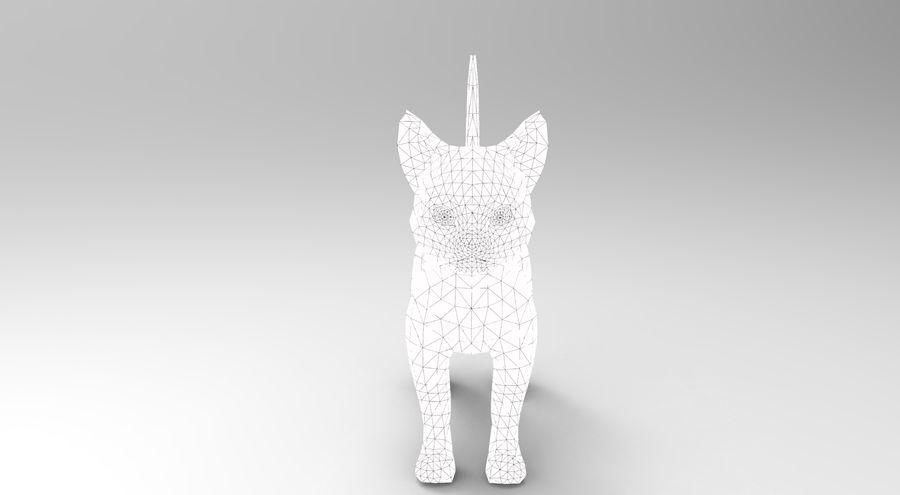 귀여운 고양이 모델 royalty-free 3d model - Preview no. 19