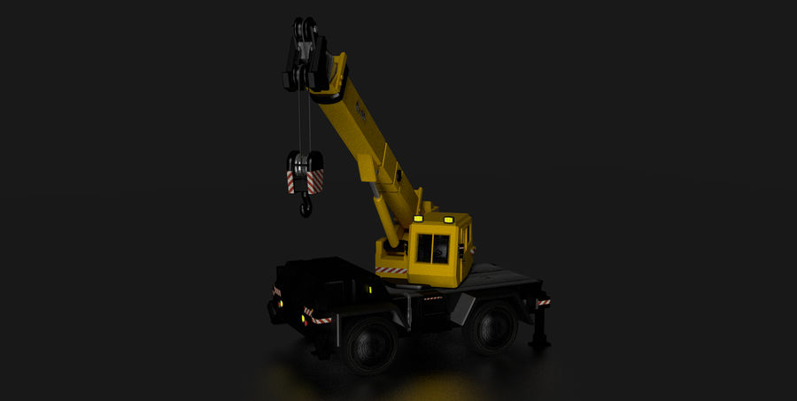 Crane royalty-free 3d model - Preview no. 3