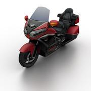 혼다 GL1800 골드 윙 2012 3d model