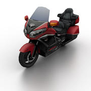 Honda GL1800 Gold Wing 2012 3d model