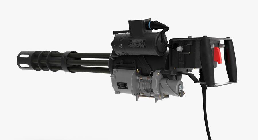 M134 Minigun Clean royalty-free 3d model - Preview no. 9