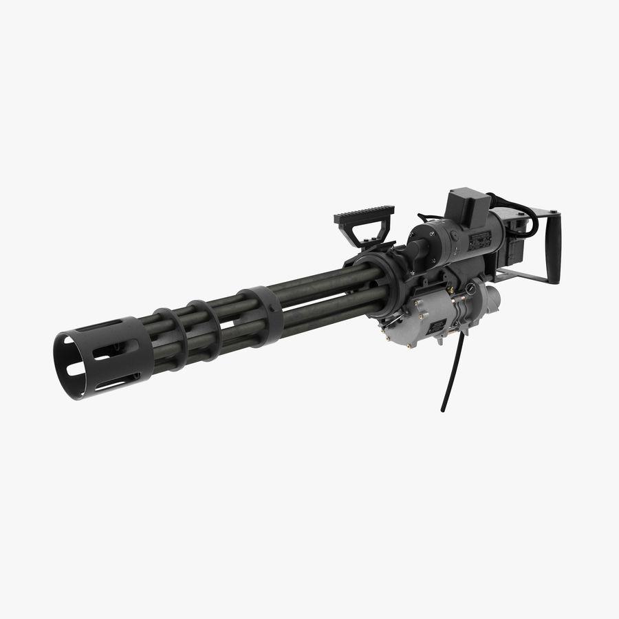 M134 Minigun Clean royalty-free 3d model - Preview no. 1
