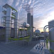 工場 3d model