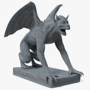 Statua Gargulca 3d model