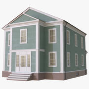 Colonial House 7 3d model