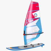 Rüzgar Sörfü 3d model