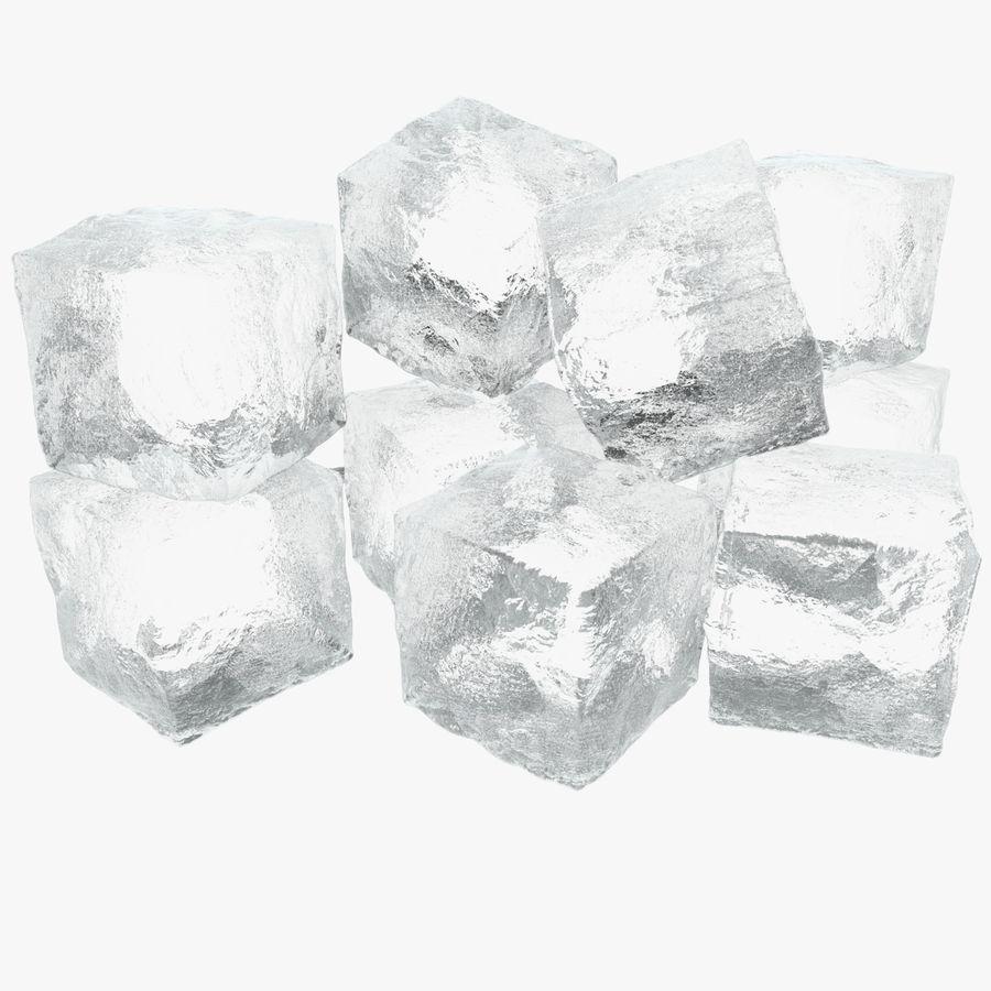 Cubetti di ghiaccio per V-Ray royalty-free 3d model - Preview no. 1