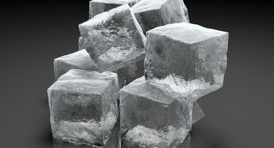 Cubetti di ghiaccio per V-Ray royalty-free 3d model - Preview no. 7